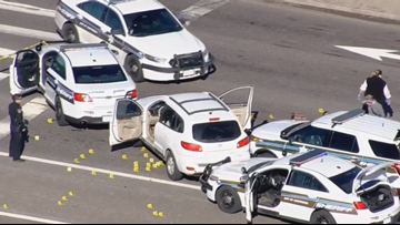 Suspect shot, killed by deputies after pursuit near Arapahoe Road and I-25