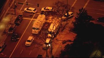 Burglary suspect in custody after barricading himself inside Denver high rise