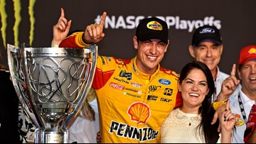 Joey Logano wins NASCAR Cup championship, Truex Jr. finishes 2nd