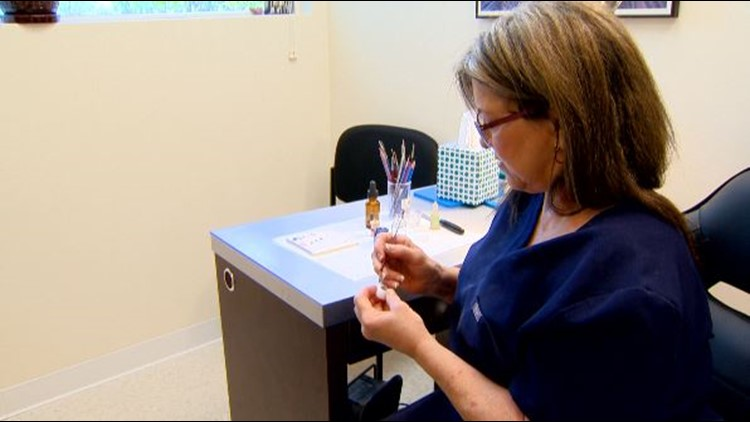 To help change lives, one local woman makes eyes