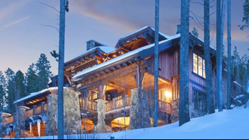 This Beaver Creek home between ski slopes is up for auction starting at $9.5M