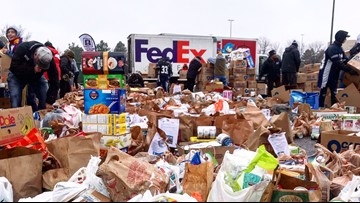 Coloradans donate more than 250k pounds of food, $59k to 9Cares Colorado Shares