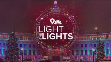 9NEWS Light the Lights: Coloradans kick off 2019 holiday season
