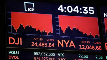 Financial expert urges you to think long-term amid stock slump