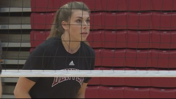 Getting some face time with DU's viral volleyball player