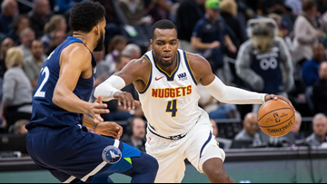 Millsap, Murray lead Nuggets past Timberwolves, 103-101