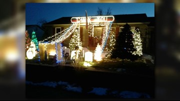 This Aurora veteran has spent a year building a Christmas display that honors fallen soldiers