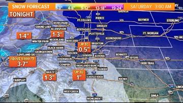 INTERACTIVE RADAR | Rain/snow mix, chilly temps come to Colorado