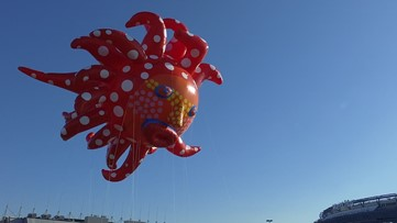 Yayoi Kusama joins the Macy's Thanksgiving Day Parade
