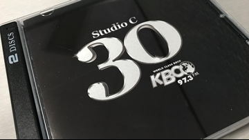 KBCO Studio C 30th Anniversary CD has arrived