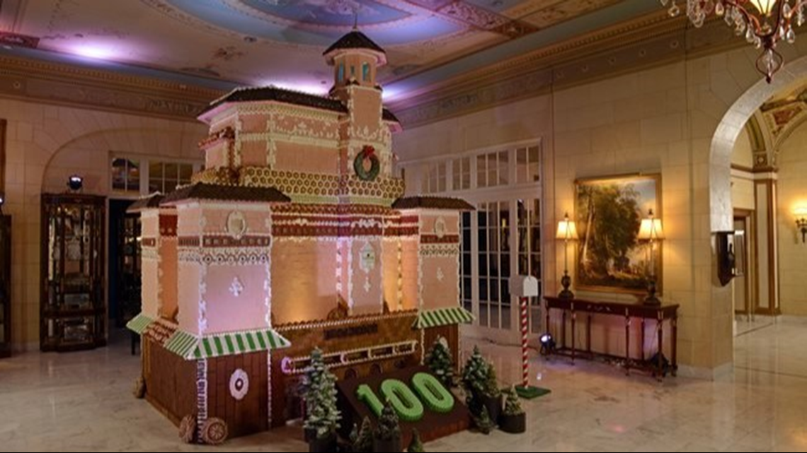 Gas Prices In Colorado >> Colorado Springs hotel builds 13-foot tall replica out of gingerbread | 9news.com