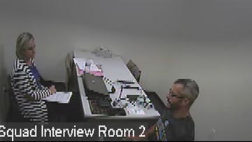 'I had no part in any of that:' Newly-released videos show Chris Watts failing polygraph test