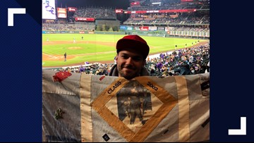 BLOG: Please help find my homemade blanket which went missing at Coors Field