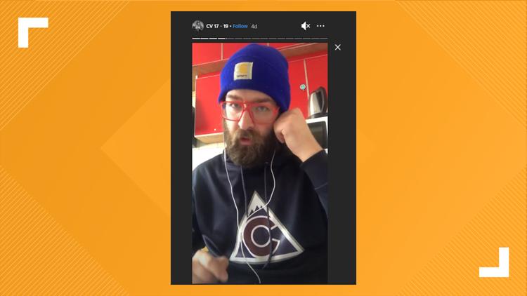 Cool Avs hoodie
