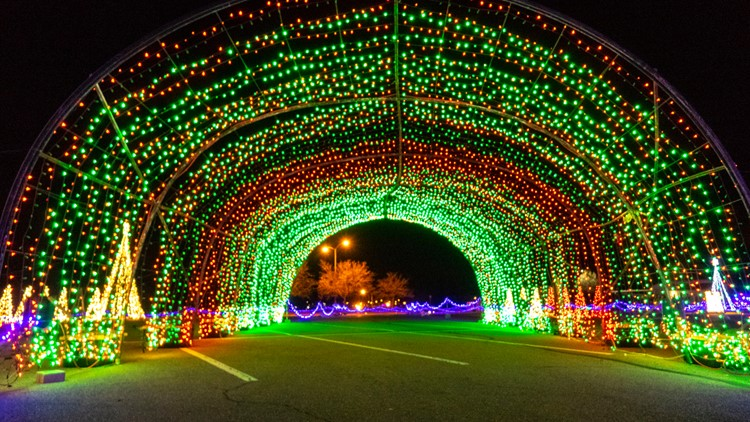2 drive-through Christmas displays with 1.5 million LED lights each coming to Colorado