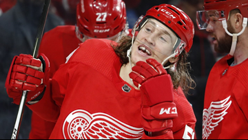 Red Wings' Bertuzzi suspended 2 games for hit on Calvert