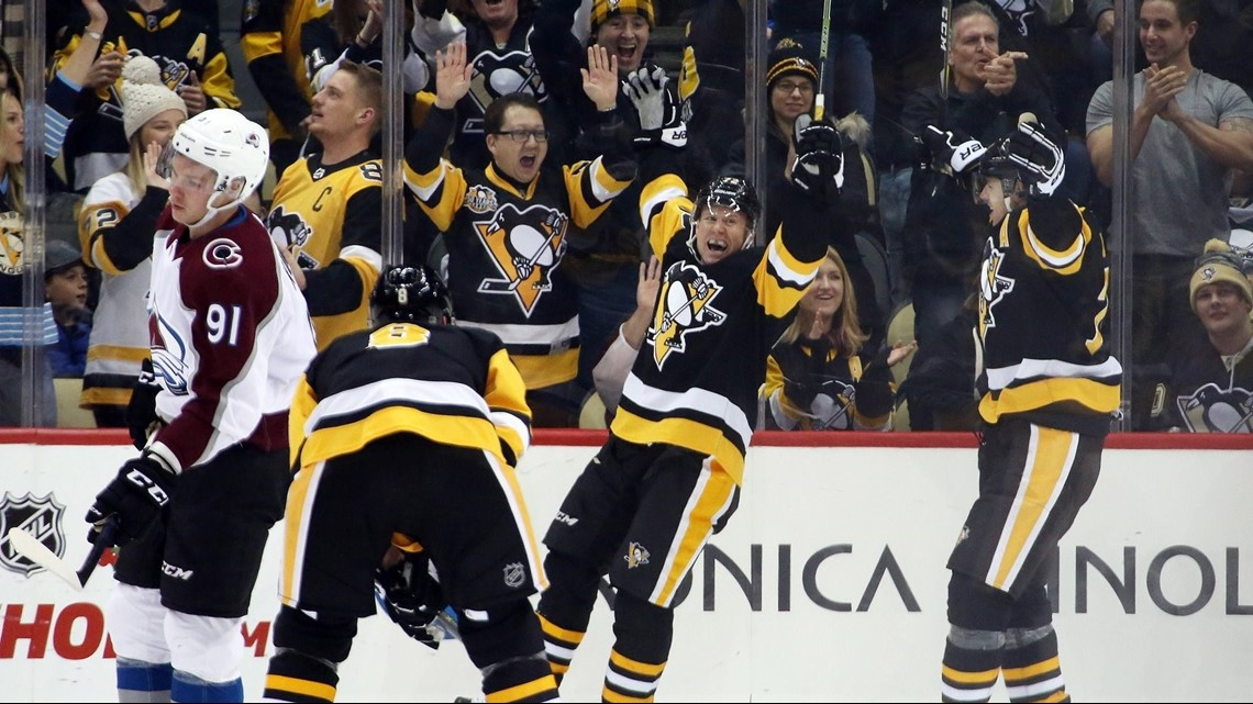 Hornqvist scores quick hat trick in 6-3 victory over Avalanche