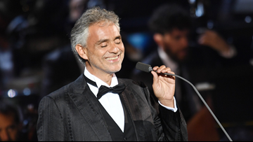 Andrea Bocelli is returning to Denver for first time in 5 years