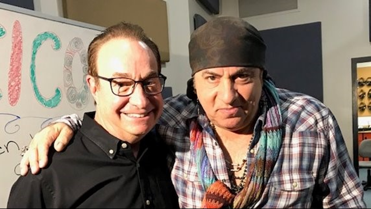 Stevie Van Zandt and Gary Shapiro