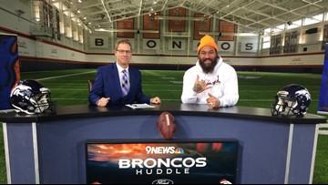 Linemen take over the Broncos Huddle