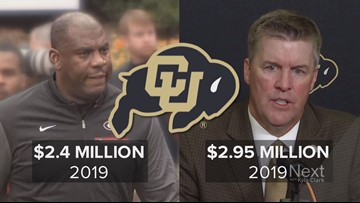 How does CU Boulder pay a new football coach, plus the one they fired?