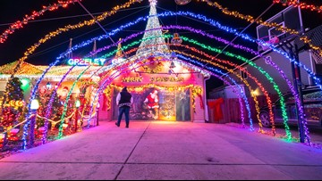 Where to find the best Christmas lights in Denver and Colorado; an interactive map