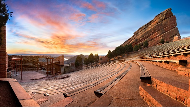 Who's playing Red Rocks in 2019?