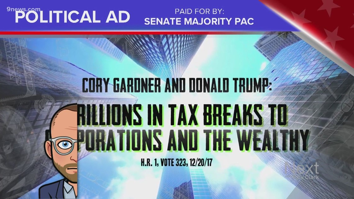 Truth Test: Senate Majority PAC ad attacks Gardner with food analogies, but the plate's half-empty