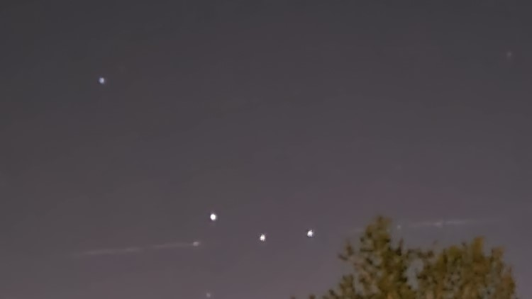 Did you see a line of lights in the sky over Colorado? Here's an explanation