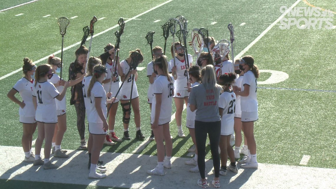 No. 5 Regis Jesuit girls lacrosse wins big over No. 6 Denver East