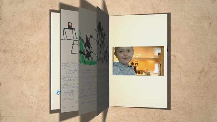 A 9-year-old's imagination helps him fight an invisible disease