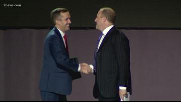 Polis becomes 1st Democrat to address conservative gathering