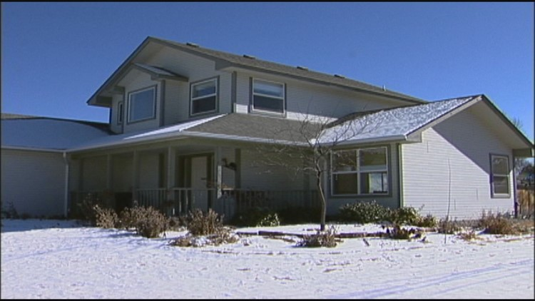 The Blagg home in Mesa County near Grand Junction.