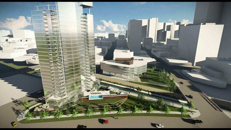 Kairoi Residential 36-story residential tower and 5-story office building