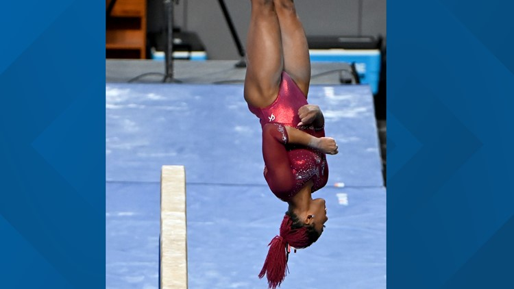 DU gymnast Brown collects three All-American honors at NCAA nationals