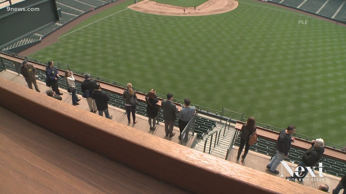 Some fans will be allowed to return to Coors Field this spring, but not Dinger