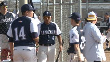 Lincoln baseball holds off Denver North for key league win