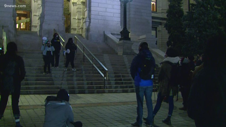 Sit-in taking place at Colorado Capitol to protest police shooting of Ma'Khia Bryant
