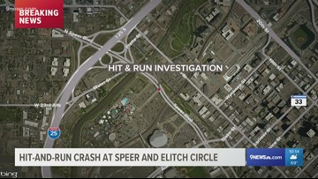 Pedestrian seriously injured in hit-and-run
