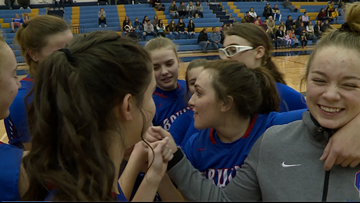 Cherry Creek girls basketball rolls past Mullen