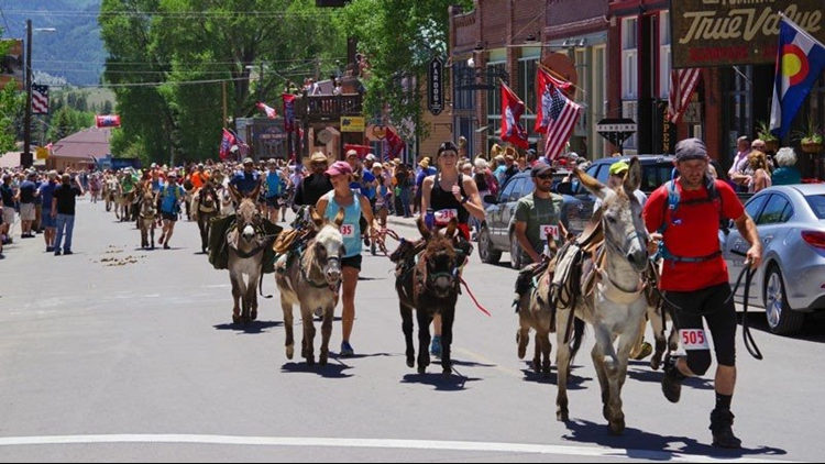 Creede & Mineral County Chamber of Commerce donkey dash