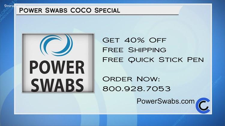 Power Swabs - June 14, 2021