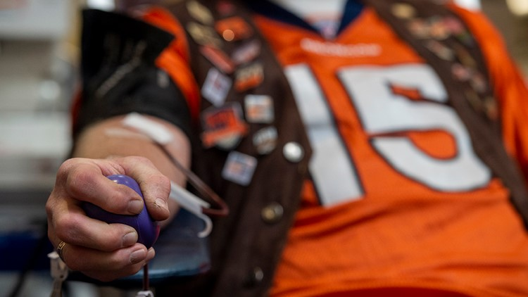 'Drive for Life 24': Broncos' annual blood drive kicks off