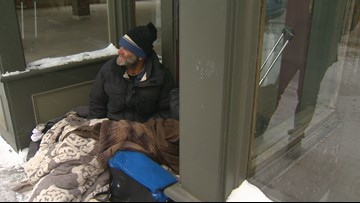 'This is death weather' | Snowstorm brings dangerous scenario for homeless