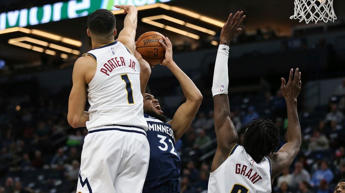 Porter Jr. helps Nuggets overtake struggling T-wolves 107-100