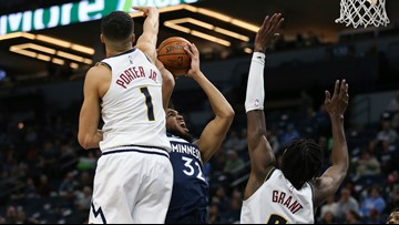 Porter Jr. helps Nuggets overtake struggling T-wolves 107-100