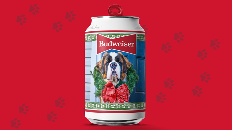 Colorado dog will be the face of Budweiser's holiday cans