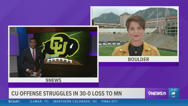 CU football disappointed after blow out loss to Minnesota