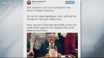 Democratic Representative Tom Sullivan is facing a recall