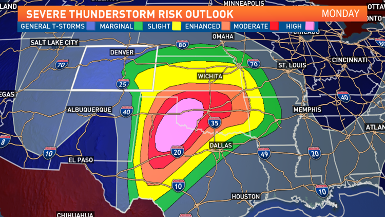 Major severe outbreak on high plains. Heavy mountain snow on the way